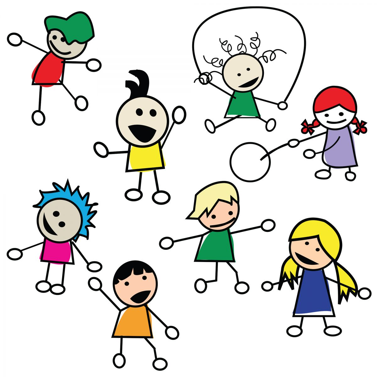 School Playtime Clipart.