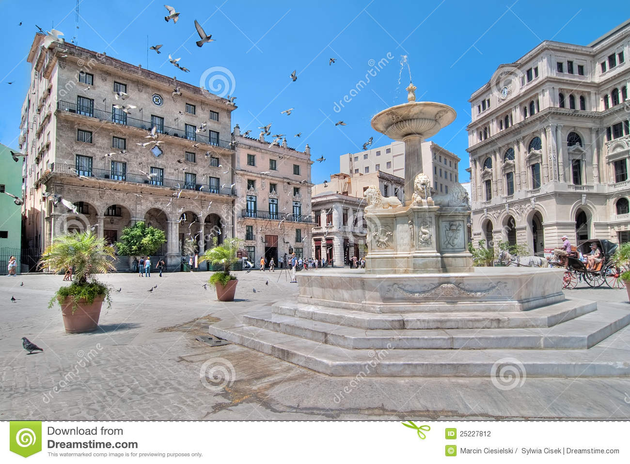 La plaza clipart.