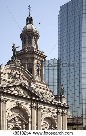Stock Photo of La Plaza de armas, Santiago de Chile k8310254.