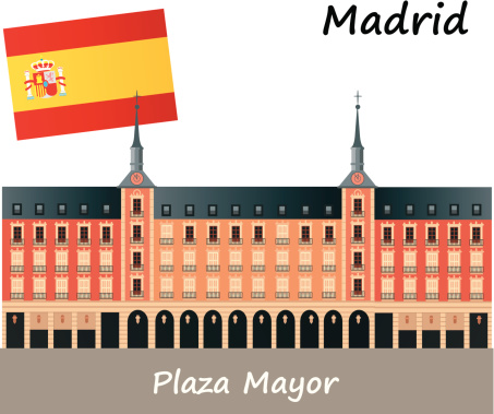 Plaza Mayor Clip Art, Vector Images & Illustrations.