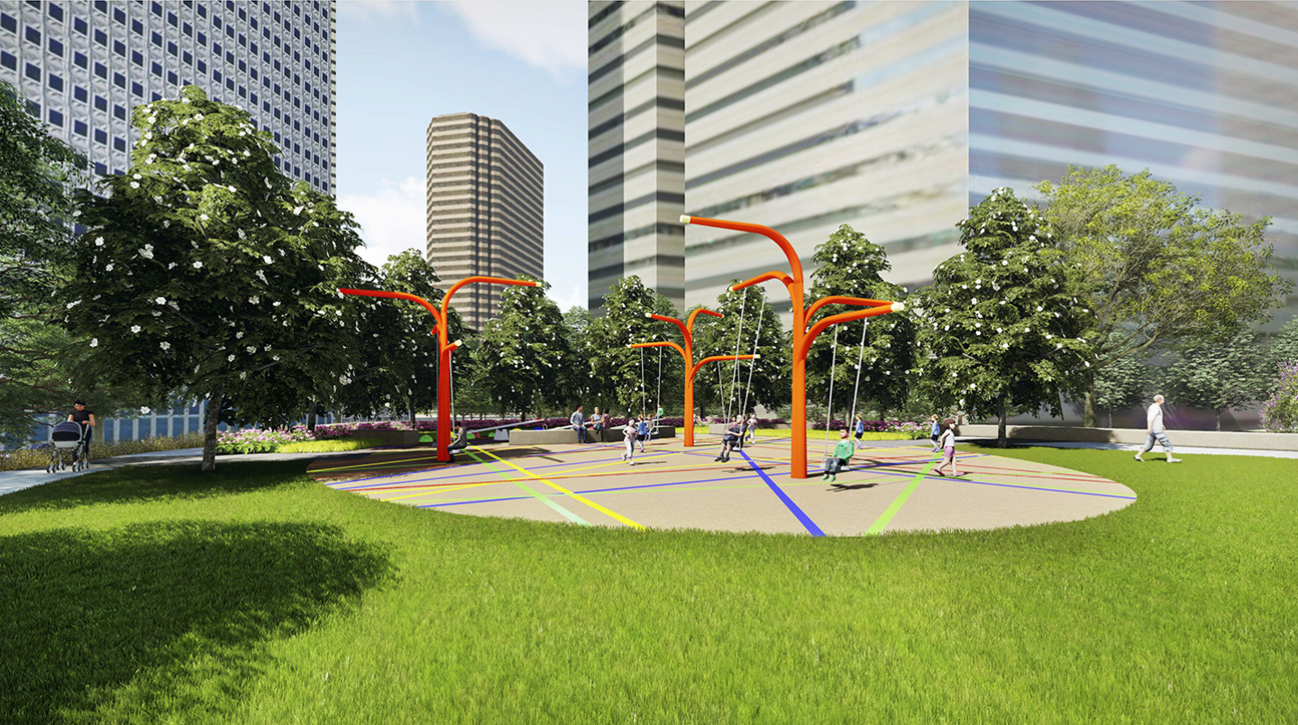 Download Free png Pacific Plaza Parks for Downtown Dallas.