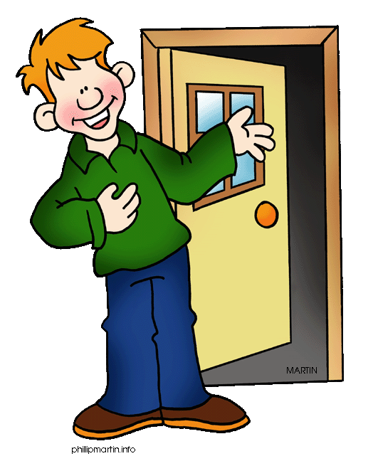 May I Come In Clipart.
