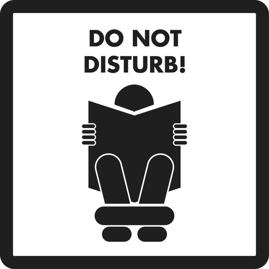 Do Not Disturb Clipart.