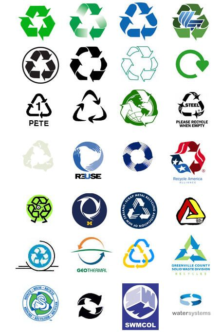 Free Recycle Clip Art.