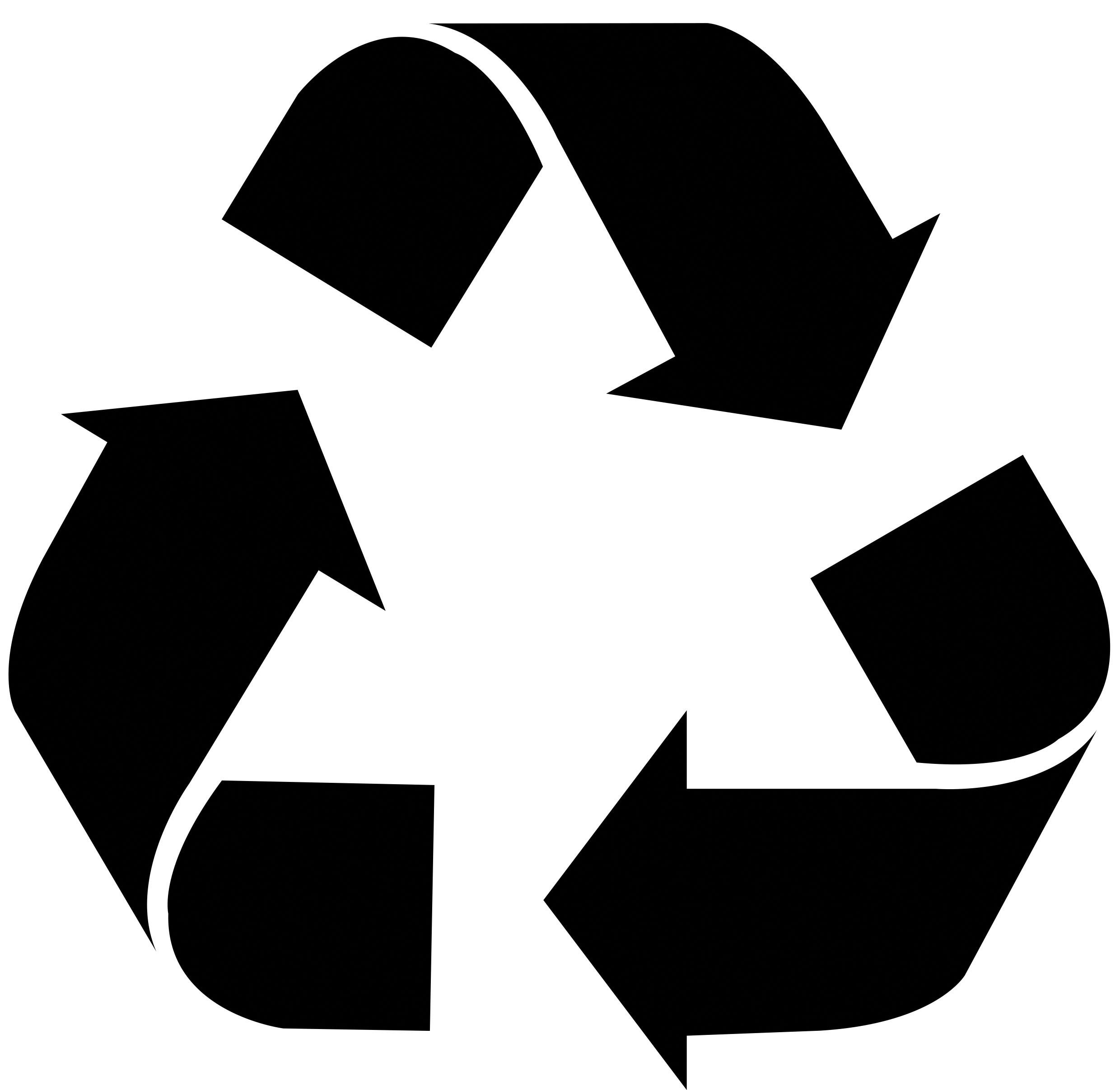 Please Recycle Logo.