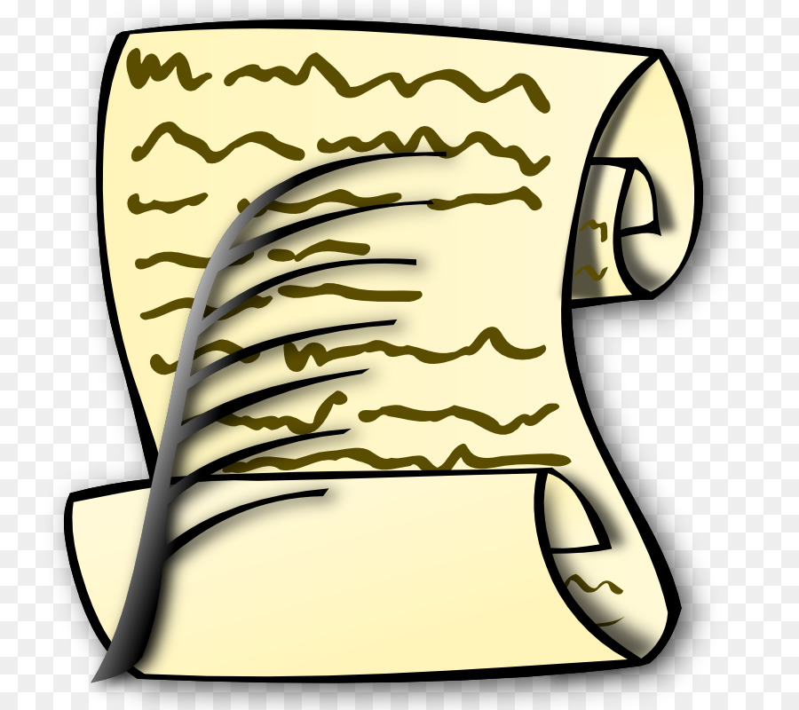 Download Free png Paper Scroll Quill Writing Clip art Pledge.