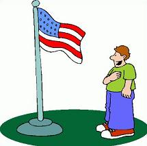 Free Pledge of Allegiance Clipart.