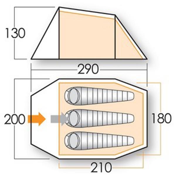 Outdoorkit: The Vango Ark 300 DS Tent.