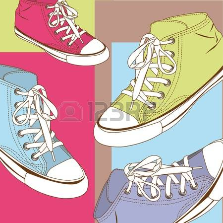 97 Plimsolls Stock Vector Illustration And Royalty Free Plimsolls.