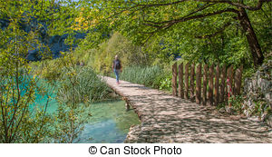 Plitvice Clip Art and Stock Illustrations. 12 Plitvice EPS.
