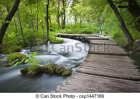 Stock Photographs of plitvicka jezera national park.