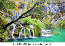 Croatia plitwitz lakes waterfall Stock Photo Images. 3,291 croatia.