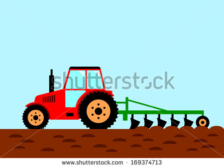 Showing post & media for Tractor plow cartoon.