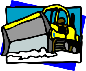 Free snow plow clipart.