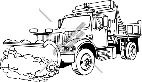 Snowplow Clipart Clipground