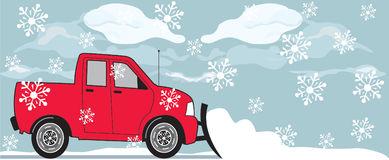 Snow Plow Stock Illustrations.