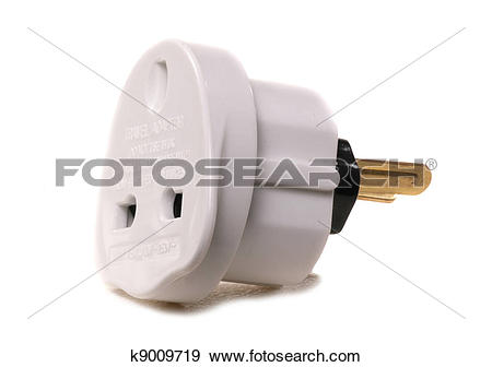 Plug adapter clipart #20
