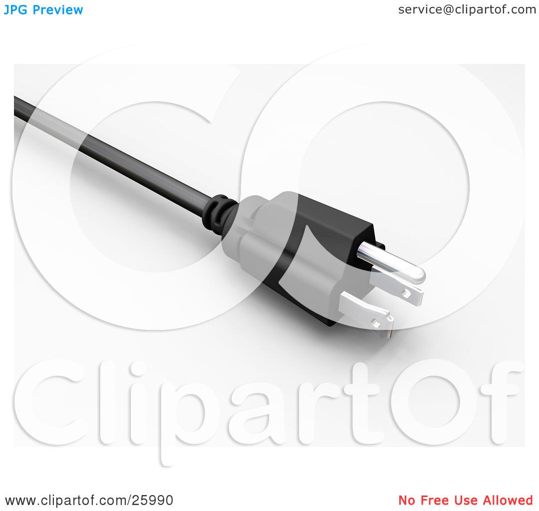 Plug adapter clipart #9