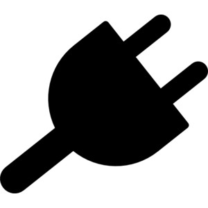 Power plug clipart.