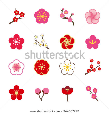 Plum Blossom Stock Images, Royalty.