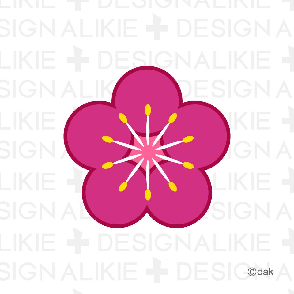 Plum Blossom Clip Art.