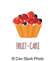 Plumcake Clipart Vector and Illustration. 4 Plumcake clip art.