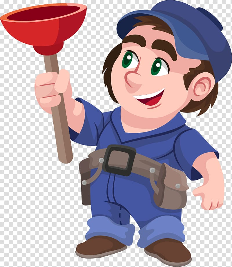 Plumber Plumbing , plumber transparent background PNG.