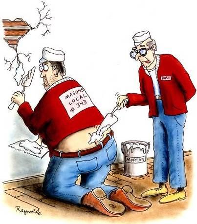 plumber\'s crack.