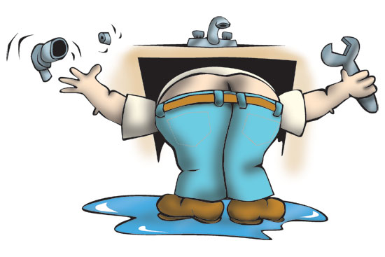 Download Free png Plumbers Crack Clipart.