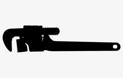 Free Pipe Wrench Clip Art with No Background.