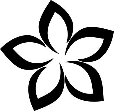 Plumeria Clip Art.