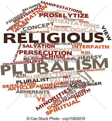 Clipart of Religious pluralism.