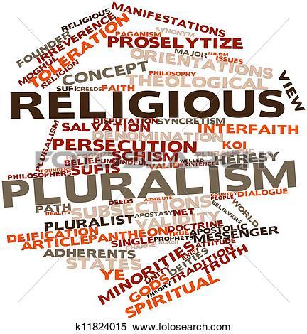 Stock Illustration of Religious pluralism k11824015.