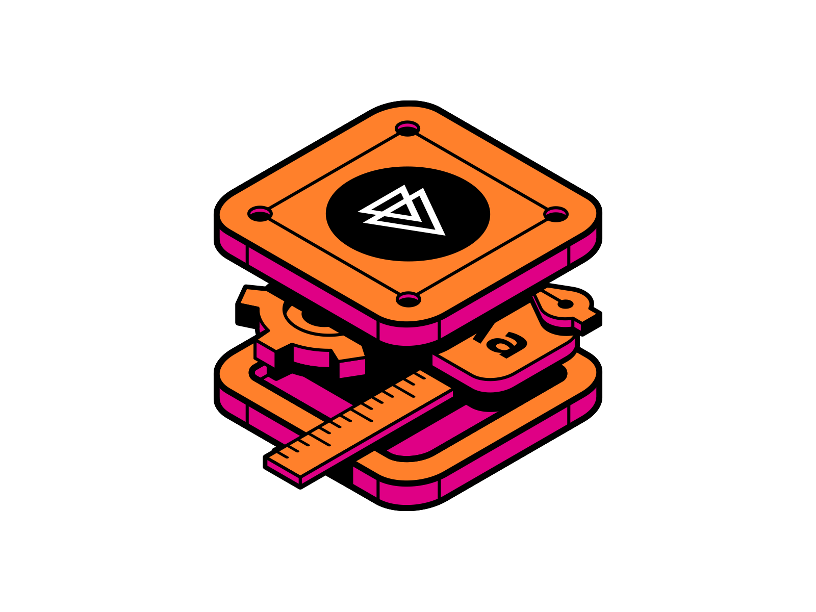 Pluralsight: Design System Sticker by Justin Mezzell for.