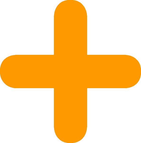 Orange Plus Clip Art at Clker.com.