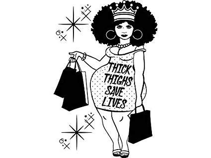 Amazon.com: Yetta Quiller Afro Woman Queen Plus Size Big.