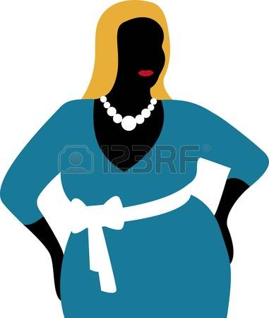 915 Chubby Woman Stock Vector Illustration And Royalty Free Chubby.