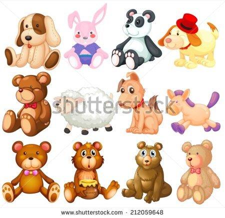 Stuffed Animal Stock Photos, Royalty.
