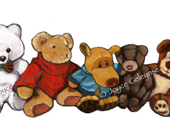 Stuffed Animals Clipart (32+).