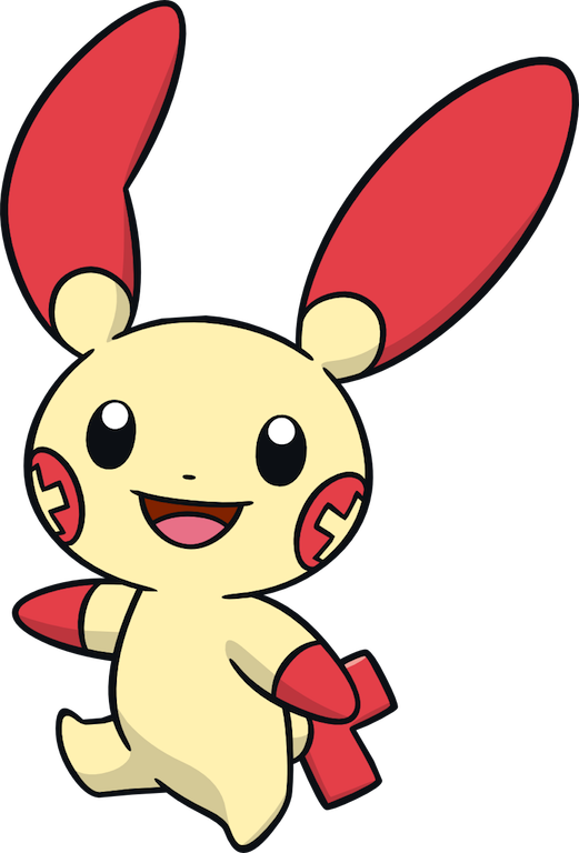 plusle #pokemon #anime #pocketmonsters.