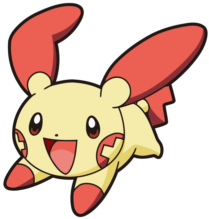 Plusle And Minun Clipart.