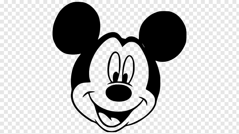 Mickey Mouse Minnie Mouse Pluto Black and white, Mickey.