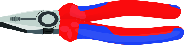 Pliers Tools Hardware clip art Free Vector / 4Vector.