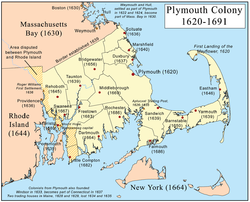 Plymouth colony clipart.