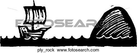 Clipart of Plymouth Rock ply_rock.