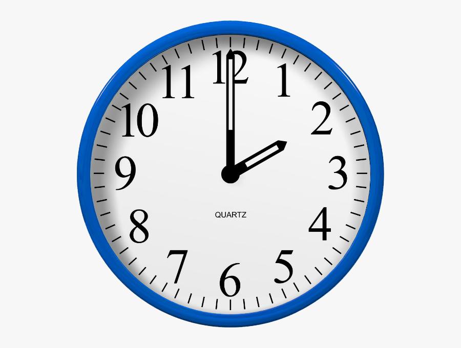 Transparent Analog Clock Clipart.