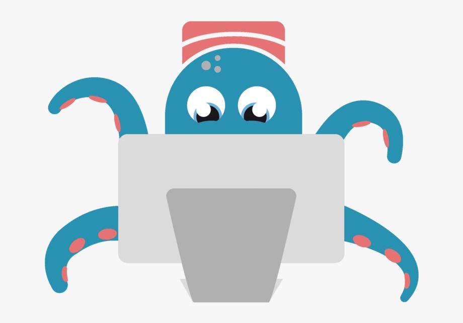 Octopus Cartoon Png.