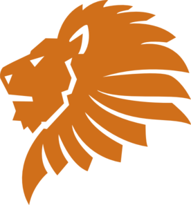 Lion In Pms 167 C Clip Art at Clker.com.