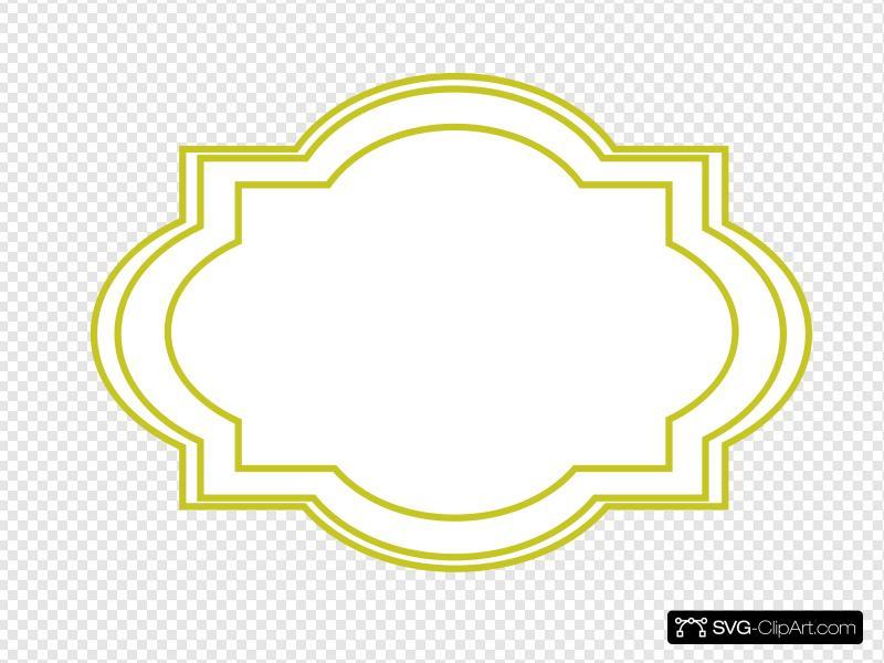 Decorative Label Clip art, Icon and SVG.