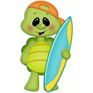 Turtle w surf board pnc.
